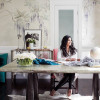 HOME OFFICE Fashion Designer Rachel Roy
