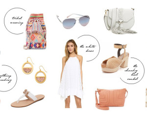 shopbop sale spring trends must haves Erika Brechtel picks feat
