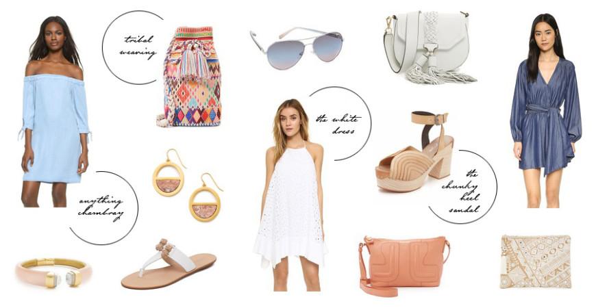 shopbop sale spring trends must haves Erika Brechtel picks feat