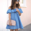 TREND The Off-the-Shoulder Mini Dress