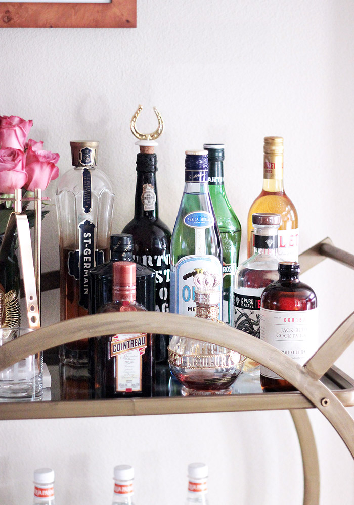 bar cart stock  u0026 style