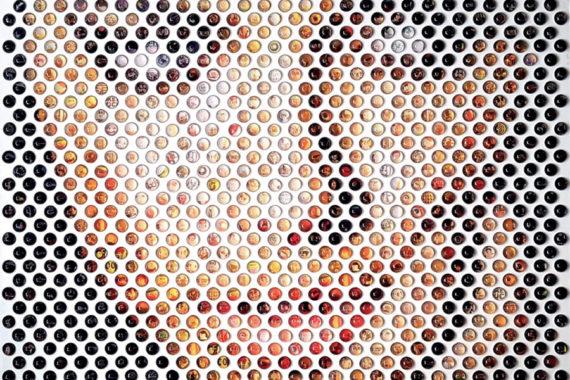Nemo Jantzen mixed media art Rock Your Mind