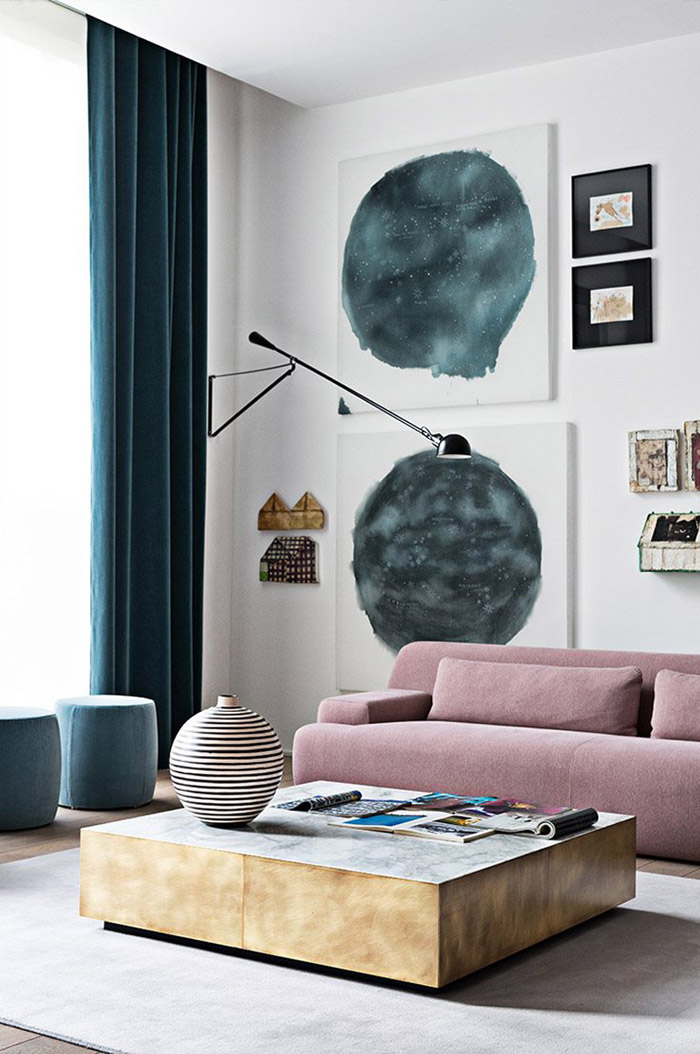 Blue White And Grey Rooms