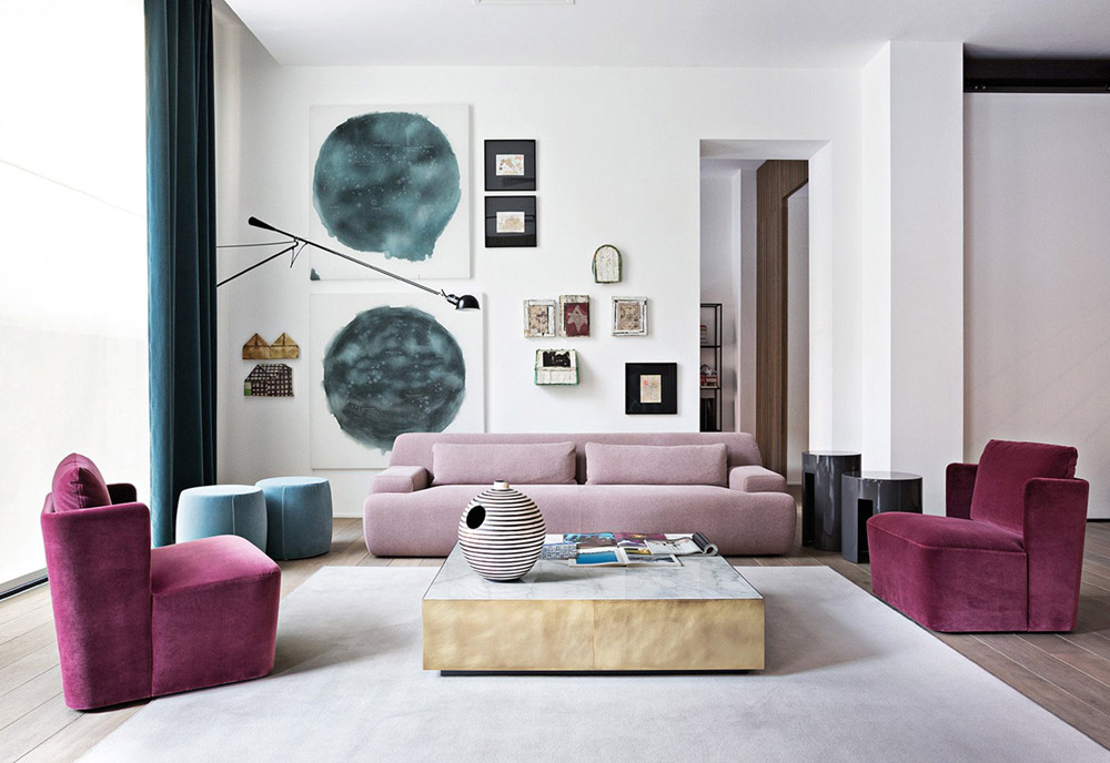 ITALIAN MODERN Meridiani Furniture