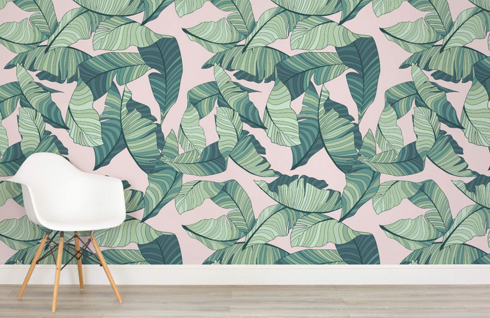 Wallflowers art mural wallpaper erika brechtel for Art mural wallpaper uk