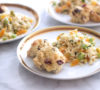 Erika Brechtel moms day recipes orzo salad ginger apricots pistachios and cherry lemon white chocolate scones