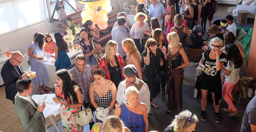 Little Brand Book launch party 02 guests